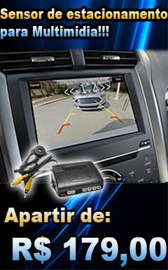 sensor de estacionamento para multimida