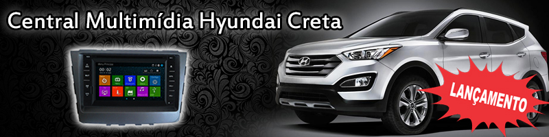 Central Multimídia Hyundai Creta