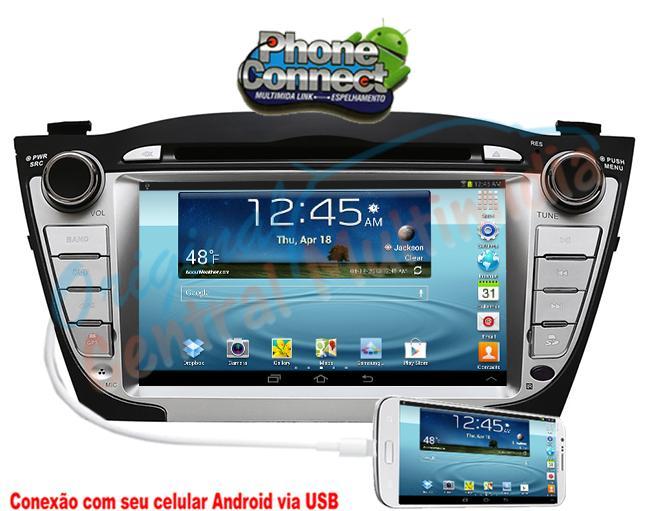 Central Multimidia Hyundai ix35 2008 2015 Audio System