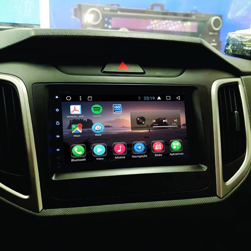 Central Multimídia Android Hyundai Creta