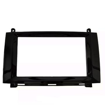 Moldura Dvd  2 Din Mercedes Sprinter Black Piano