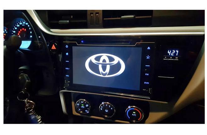 Central Multimídia Toyota Corolla 2018  10 Pol.