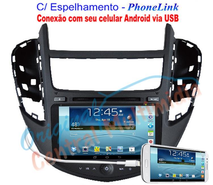 Central Multimídia GM Tracker - WINCA S90 PhoneLink