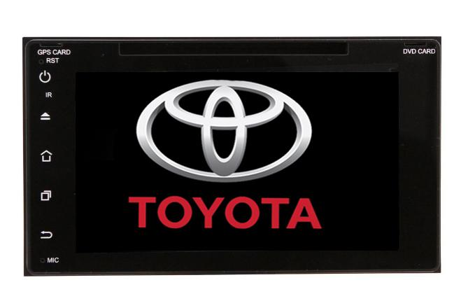 Central Multimídia Android Toyota Corolla 2018 C/ DVD