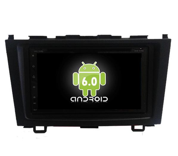 Central Multimidia Android  CRV 2007/11 (Multimidia + Moldura)