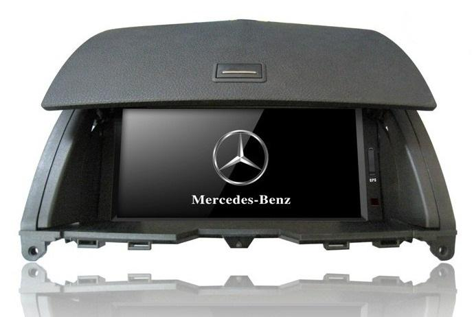 Central Multimidia Mercedes C200 e C180 2008/2011
