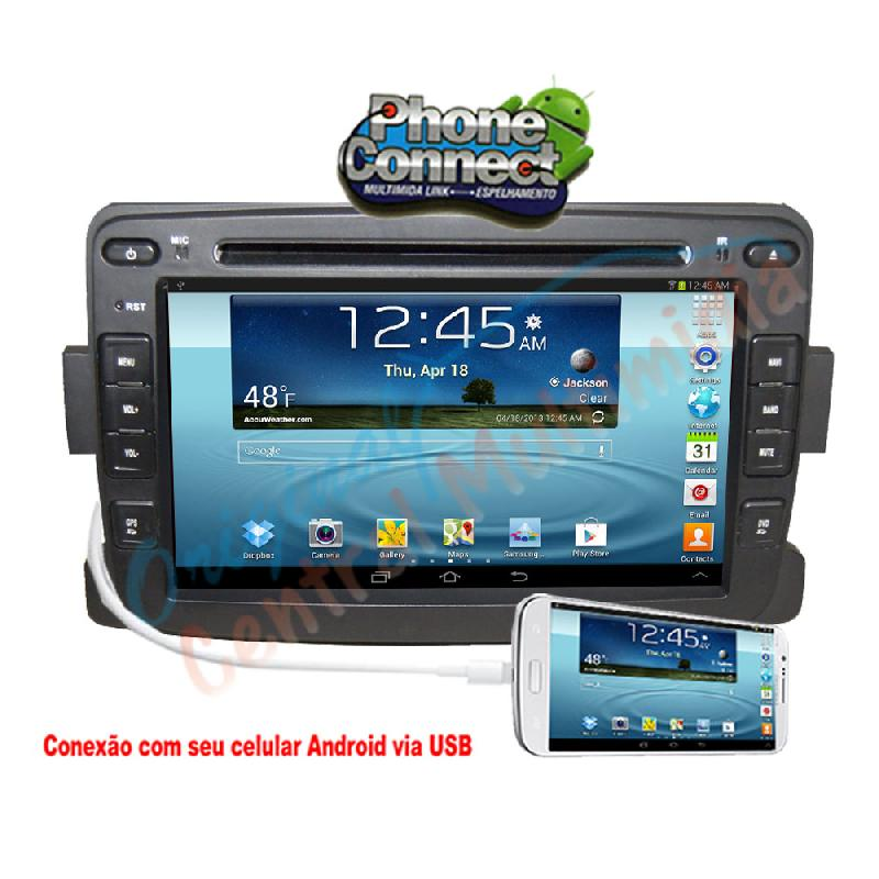 Central Multimidia Renault Duster 2013 2014 2015 Audio System