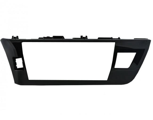Moldura para o multimidia original Corolla 2015 2016 (Black Piano)