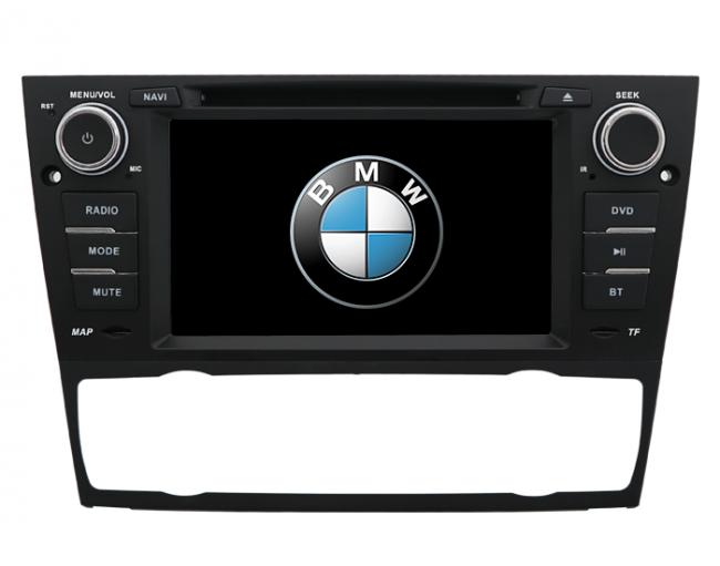 Central Multimidia BMW  318/320/325/330 2007/12 Ar Digital - Audio System