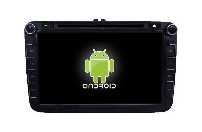 Central Multimidia VW Jetta Amarok 2008 a 2017, Gol G7 tela 8 pol. Android