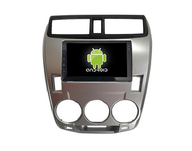 Central Multimidia Android  Honda City Ar Analogico 2009 a 2013 (Multimidia + Moldura)