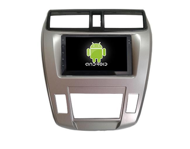 Central Multimidia Android Honda City Ar Digital 2009 a 2013 (Multimidia  + Moldura)
