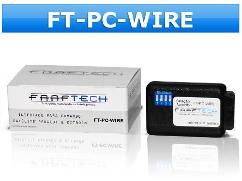 Interface para Controle de Volante FT - PC - WIRE