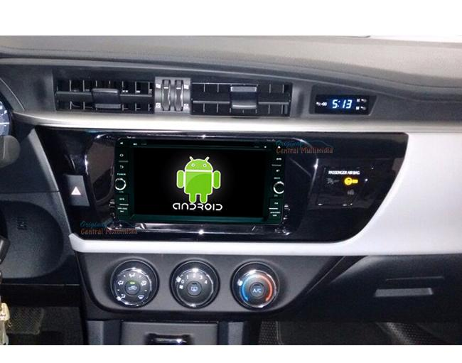 Central Multimidia Android Toyota Corolla 2015 2016 2017 GLI - S/ SOM ORIGINAL