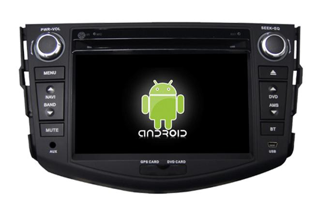 Central Multimidia Android Rav4 2008 2009 2010 2011 2012