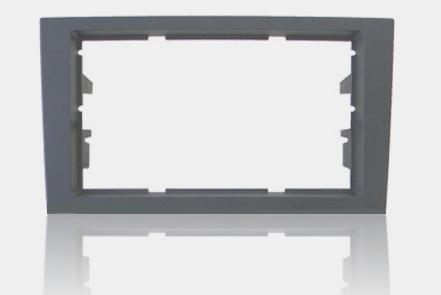 Moldura para DVD Audi A4 Cinza