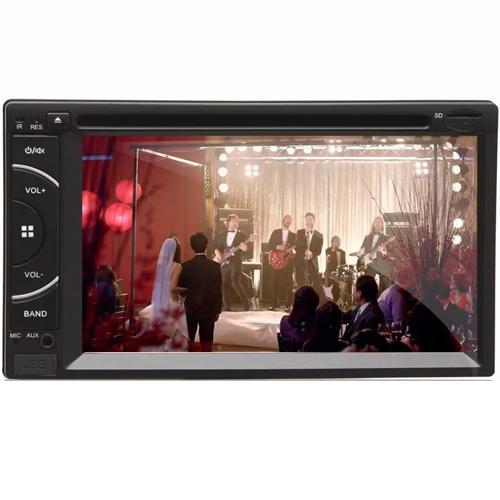 Dvd Automotivo 2 Din Tela 6,2 Fm Usb Bt Sd - Espelhamento
