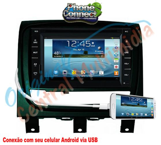 Fiat Strada Advent. Locker/Siena/Palio Wek.2013/15 (Univ. + Mold. grafite brilhante) - Audio System