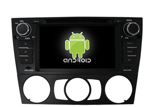 Central Multimídia Bmw 318 320 328 330 335 Android 6.0 (Ar Analogico)