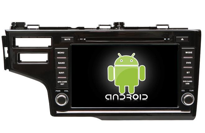 Central Multimidia Android Honda Fit 2014 2015 2017 2018
