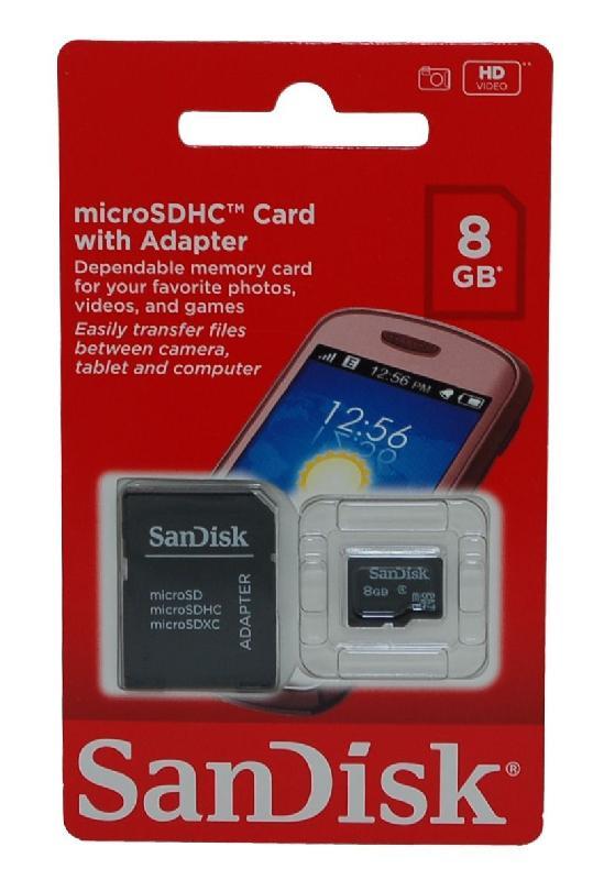 Cartão de Memória 8GB com Navegador GPS IGO8 Mapa Atualizado