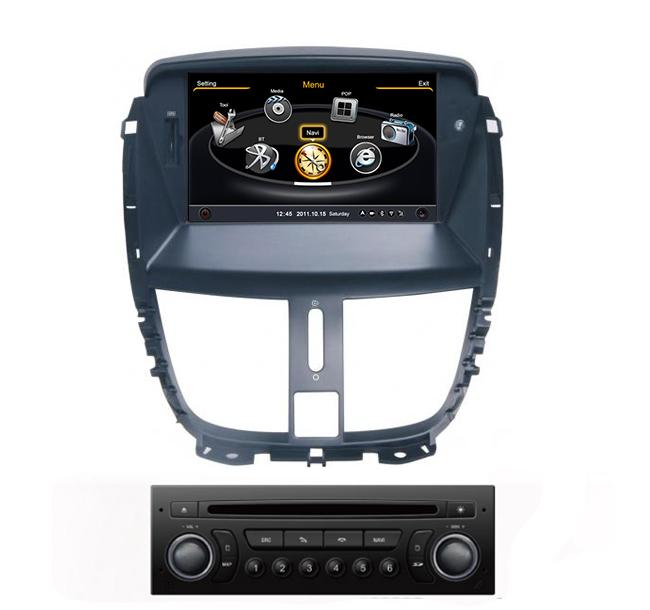 Central Multimidia Peugeot 207 WINCA S100