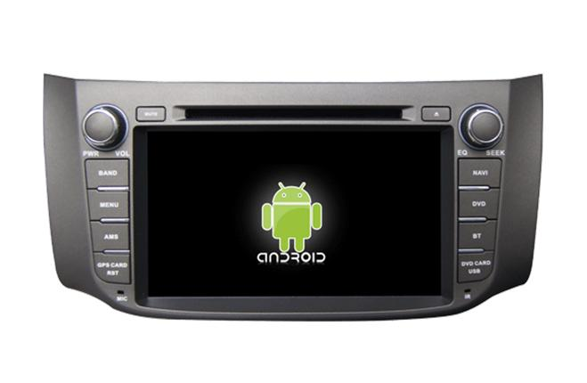 Central Multimidia Android -  Nissan Sentra 2014 2015