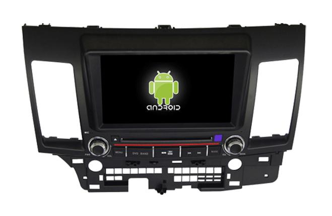 Central Multimidia Android - Mitsubishi Lancer 2012/15