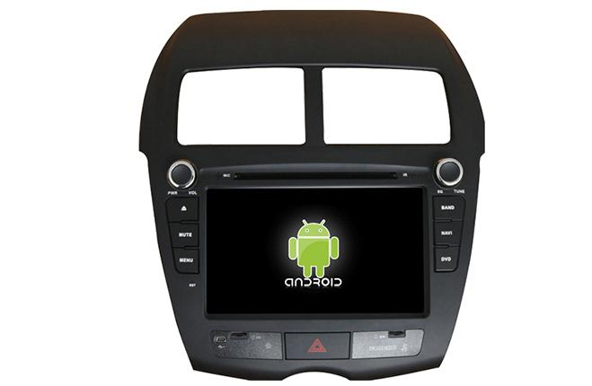 Central Multimidia Android - Mitsubishi ASX