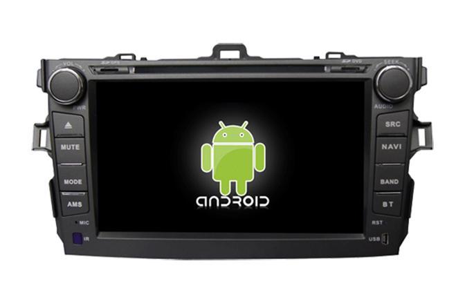 Central Multimidia Android   Corolla 2008 a 2014  tela 8 polegadas