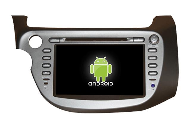 Central Multimidia Android Honda New Fit 2008 a 2014