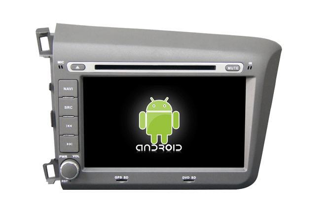 Central Multimidia Android - Honda Civic  2012/2014