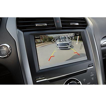Sensor de estacionamento para multimidia com camera de ré (Pontos Prata)