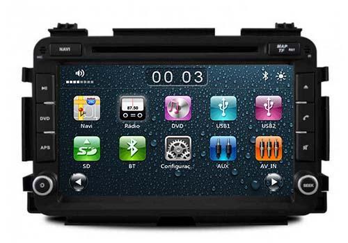 Central Multimidia Honda HRV  2015  2016 - Audio System