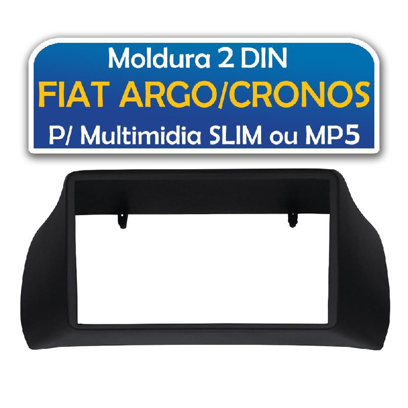 Moldura Para Mp5 E Multimidia 2 Din Fiat  Argo  Cronos