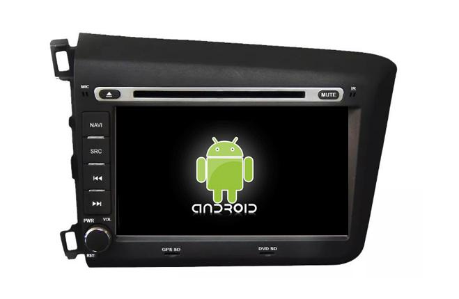 Central Multimidia Android Honda Civic 2015 2016