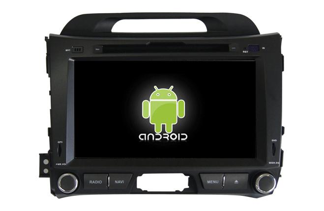 Central Multimidia Android - Kia Sportage 2011/14