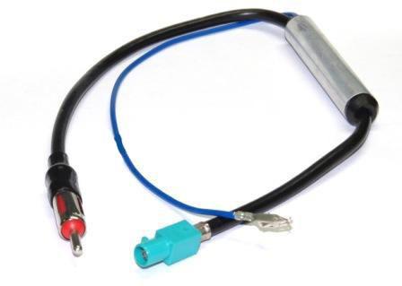 Plug Conector Adaptador de antena Novo Jetta /  Audi