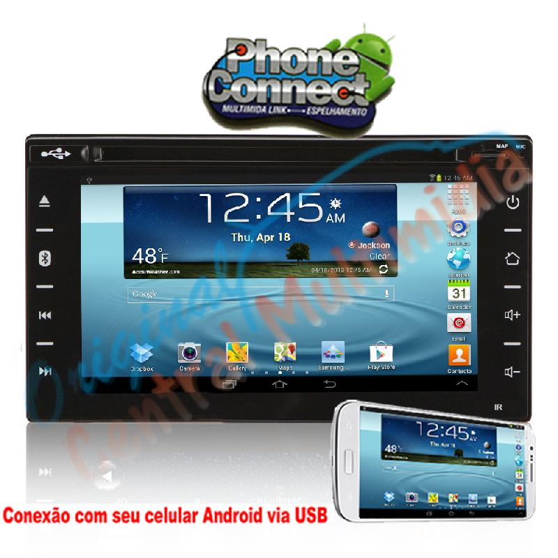 Central Multimidia Universal Full Touch