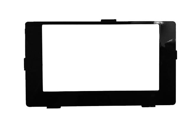 Moldura Para Multimidia 2 Din Corolla Gli 2018 Black Piano